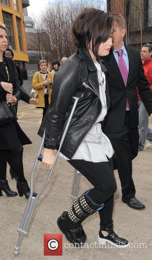 Demi Lovato, London Fashion Week