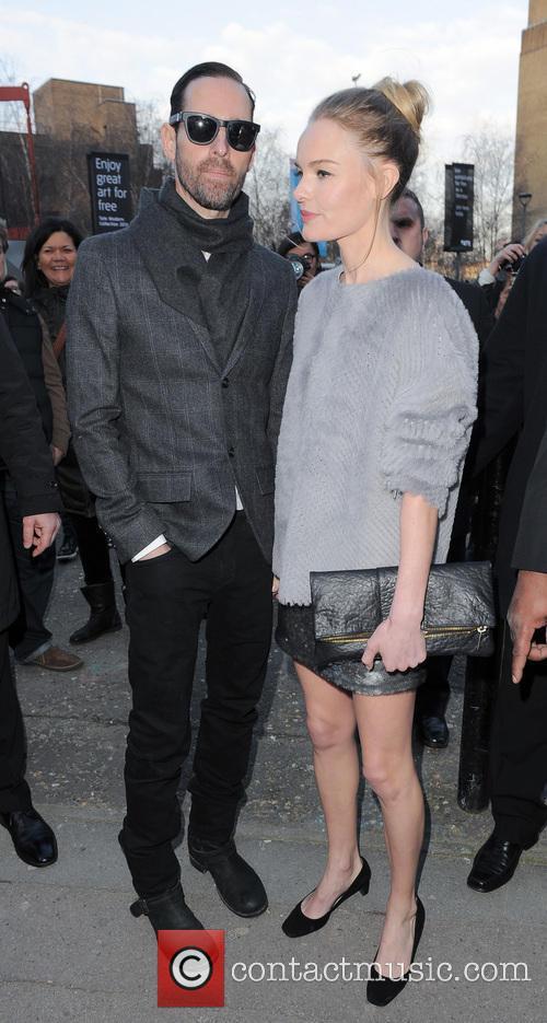 Michael Polish, Kate Bosworth, London Fashion Week
