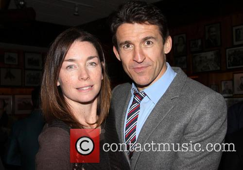 Julianne Nicholson and Jonathan Cake