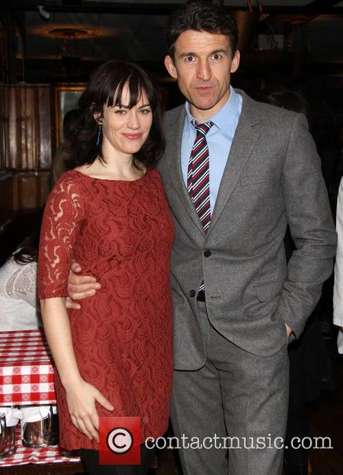 Maggie Siff and Jonathan Cake