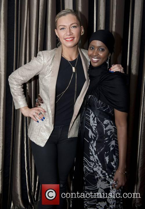 Justina Robinson and Ifrah Ahmed 2