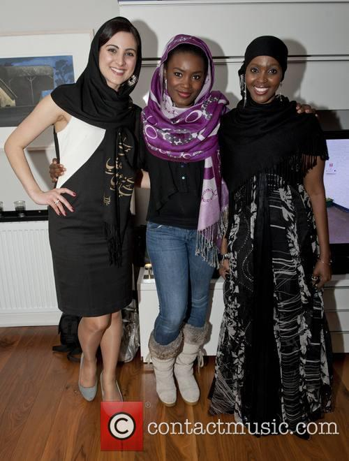 Sheelan Yousefizadeh (miss Ethnic Ireland), Zainab Husseini Akwa and Ifrah Ahmed 2