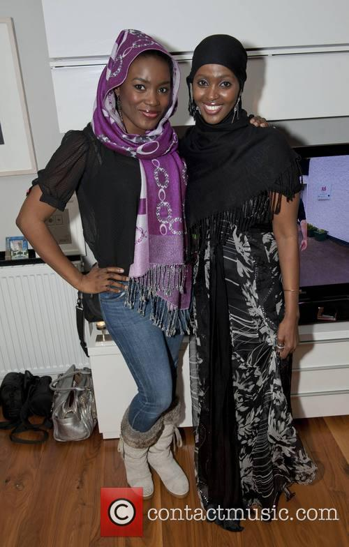 Zainab Husseini Akwa and Ifrah Ahmed 1