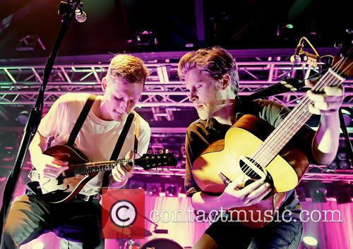 The Lumineers Jeremiah and Wesley