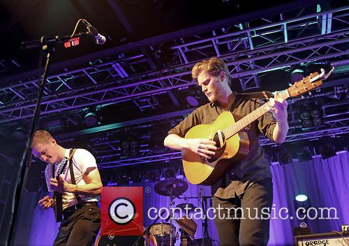 The Lumineers, Jeremiah Fraites and Wesley Schultz 3