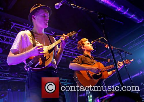 The Lumineers, Jeremiah Fraites and Wesley Schultz 4