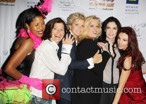 Dalila Ali Rajah, Meredith Baxter, Suzanne Westenhoefer, Jill Bennett and Jackie Monahan 3