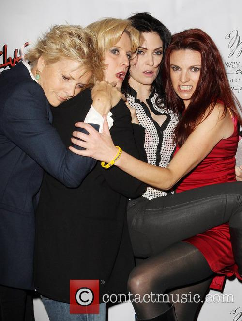 Meredith Baxter, Suzanne Westenhoefer, Jill Bennett and Jackie Monahan 5