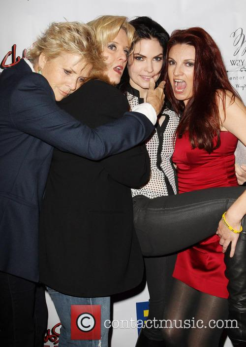 Meredith Baxter, Suzanne Westenhoefer, Jill Bennett and Jackie Monahan 8