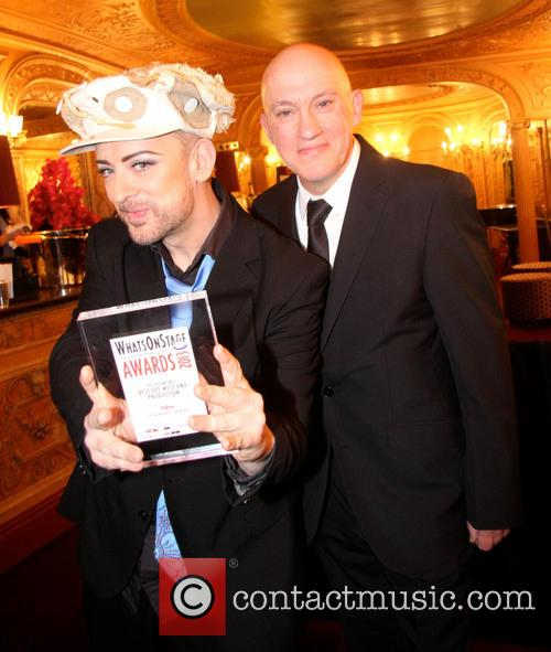 Boy George and Mark Davis Markham - Whatsonstage.com...