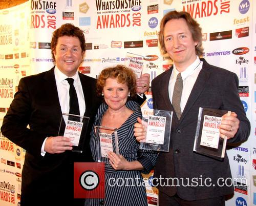 Michael Ball, Imelda Staunton and Jonathan Church 2