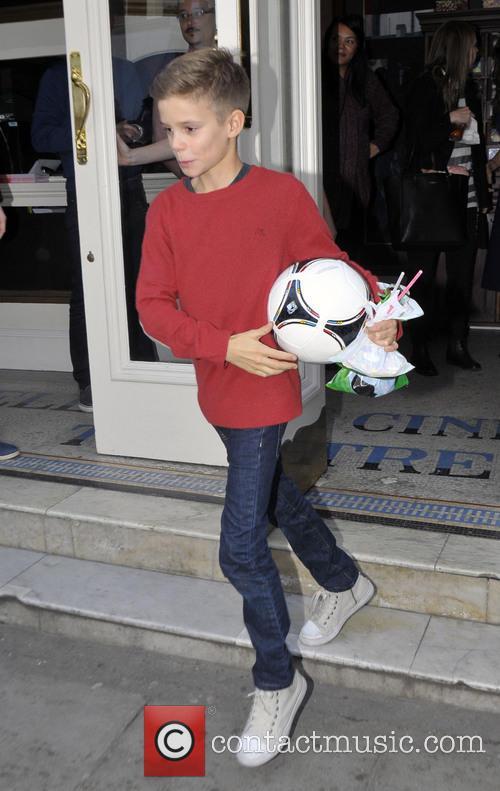 Romeo Beckham and Cruz Beckham 1