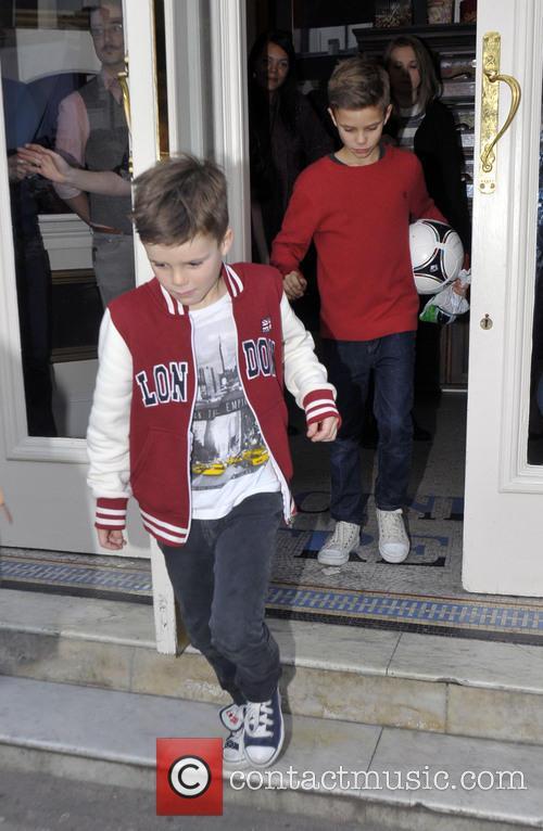 Romeo Beckham and Cruz Beckham 5
