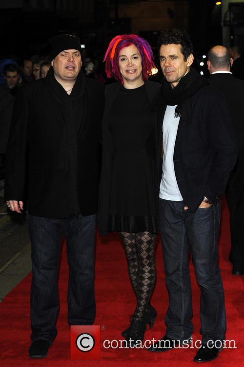 Andy Wachowski, Lana Wachowski and Tom Tykwer 2