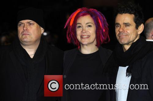 Andy Wachowski, Lana Wachowski and Tom Tykwer 3