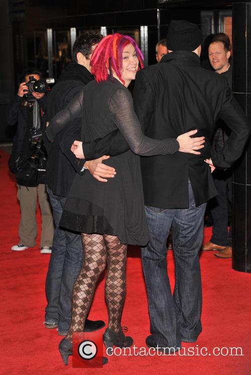 Andy Wachowski, Lana Wachowski and Tom Tykwer 1
