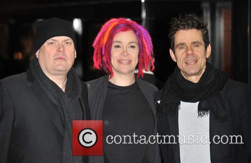 Andy Wachowski, Lana Wachowski and Tom Tykwer 6