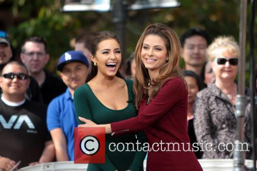 Maria Menounos and Miss Universe 2012 Olivia Culpo 2