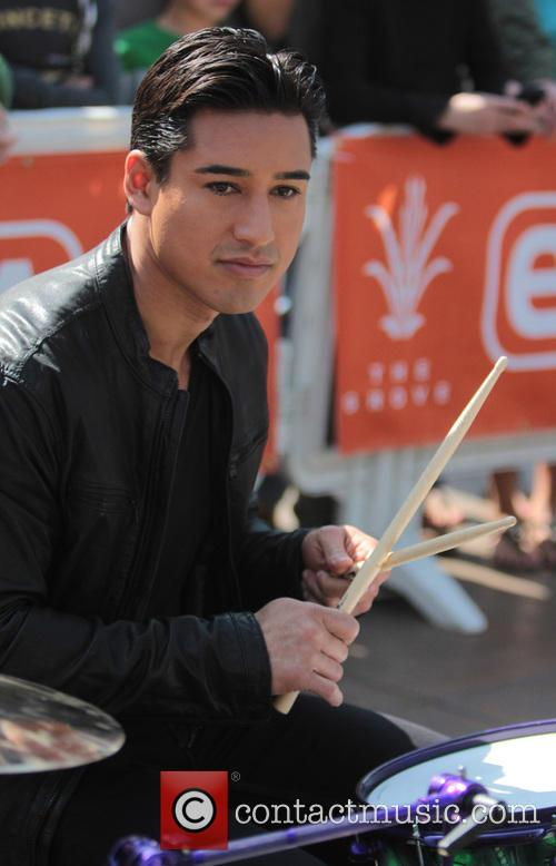mario lopez celebrities at the grove to appear 3512304