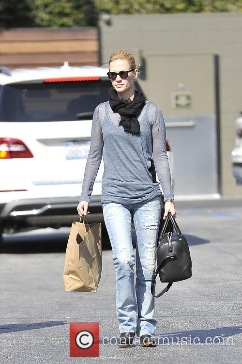 January Jones and Diane Kruger have lunch