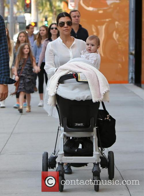 Kourtney Kardashian, Scott Disick and Penelope Disick 4