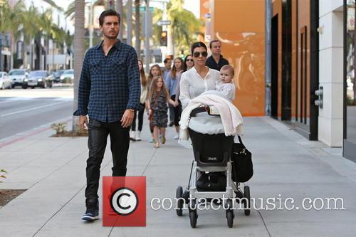 Kourtney Kardashian, Scott Disick and Penelope Disick 12