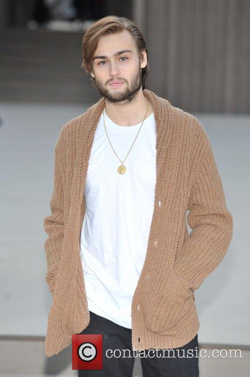 Douglas Booth, London Fashion Week