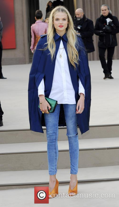 Gabriella Wilde, London Fashion Week