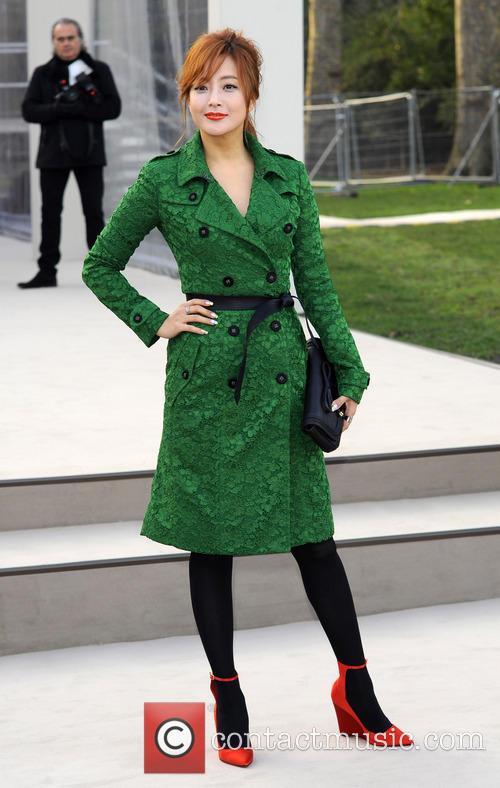 Kim Hee Sun, London Fashion Week
