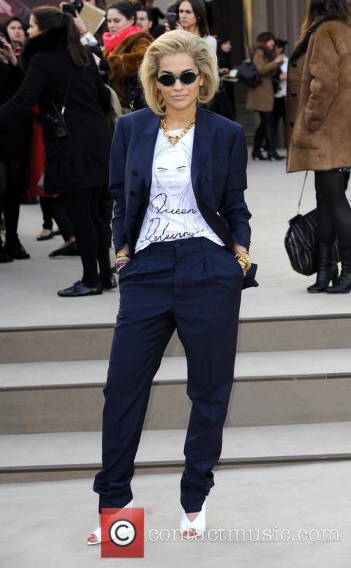 Rita Ora, London Fashion Week
