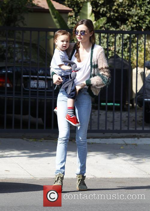 Miranda Kerr and her son Flynn Bloom head...