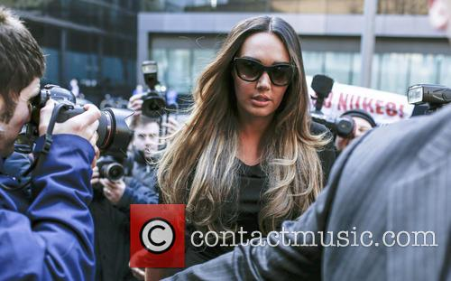 Tamara Ecclestone arrives at Southwark Crown Court