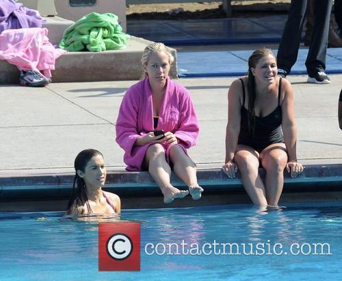 Nicole Eggert, Kendra Wilkinson and Katherine Webb 3