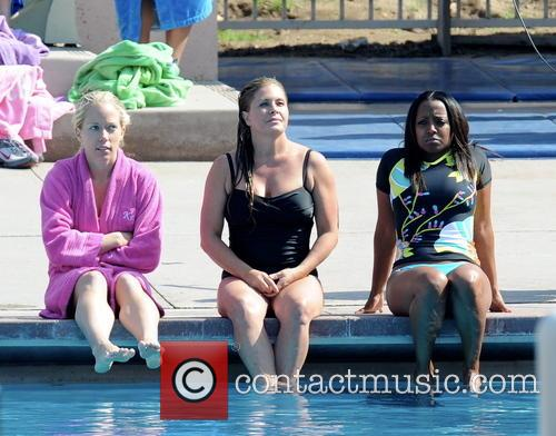 Nicole Eggert, Kendra Wilkinson and Keshia Knight Pulliam 10
