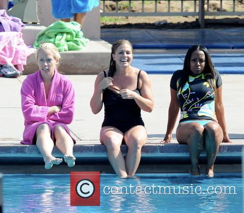 Nicole Eggert, Kendra Wilkinson and Keshia Knight Pulliam 4