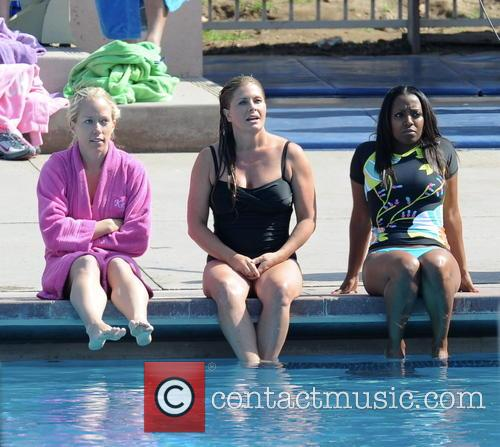 Nicole Eggert, Kendra Wilkinson and Keshia Knight Pulliam 1