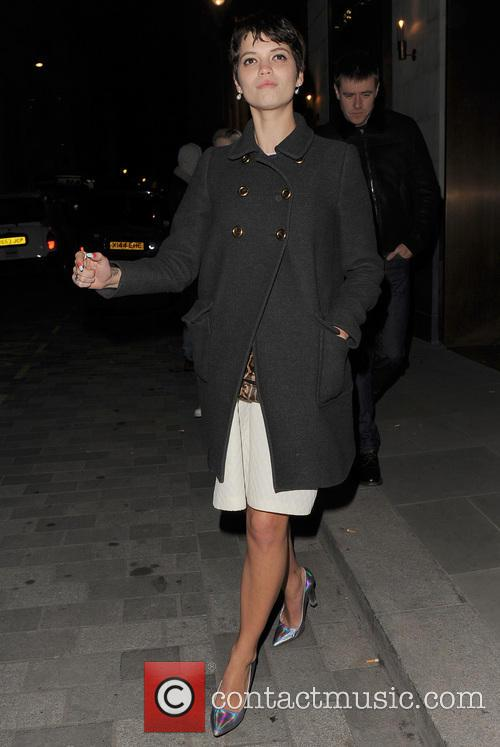 Pixie Geldof At The Cafe Royal Hotel