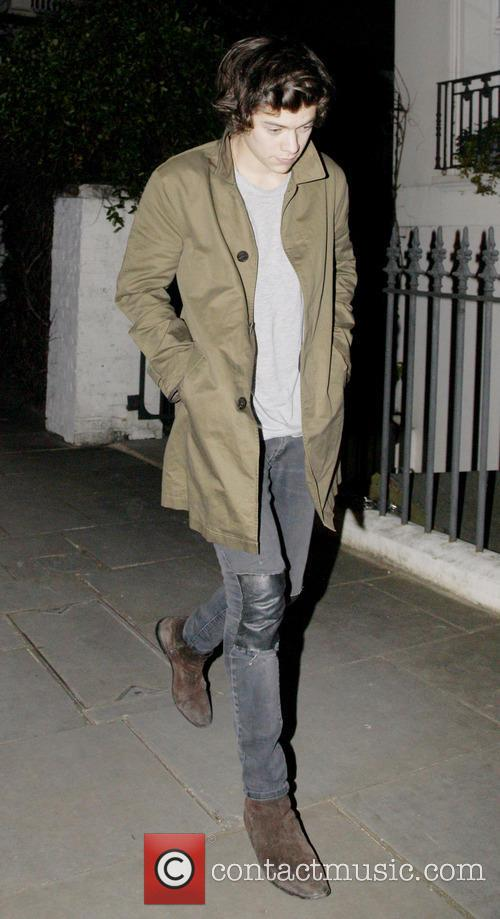 Harry Styles, Cafe Royal, London