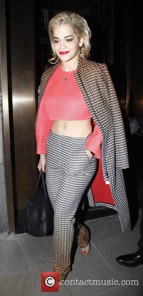 Rita Ora, Cafe Royal, London