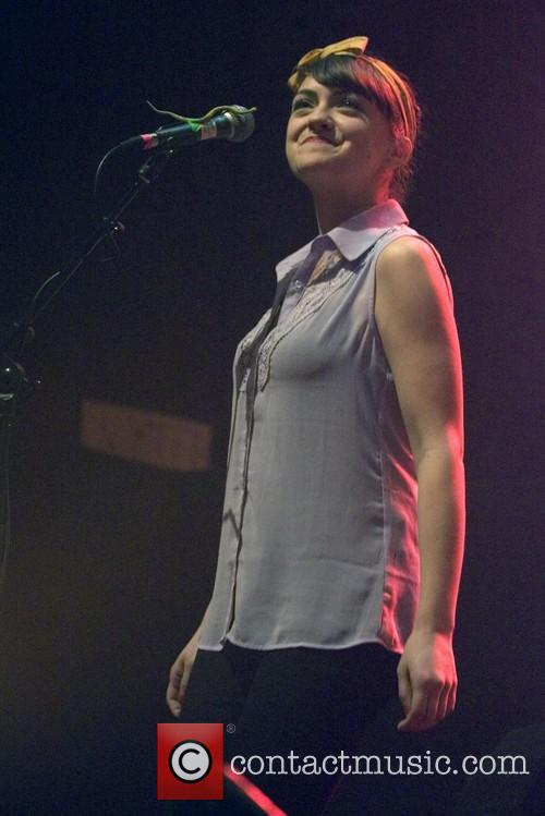 The lumineers and neyla pekarek at o2 academy glasgow scotland