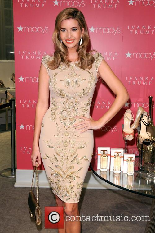 Ivanka Trump attends the launch of her fragrance...