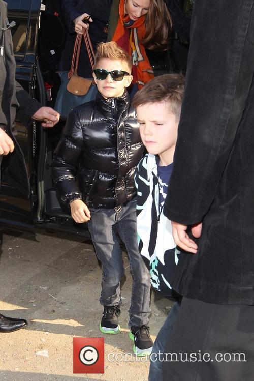 Cruz Beckham and Romeo Beckham 1