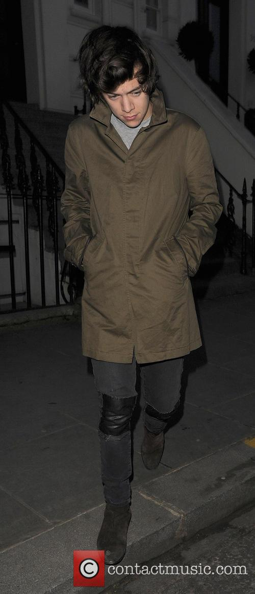 Celebrities leave a house party in Notting Hill