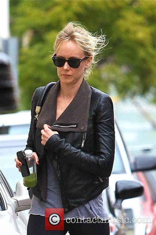 Kimberly Stewart seen leaving the gym