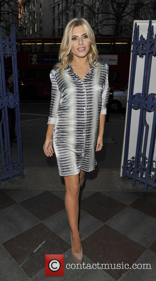 Mollie King, London Fashion Week