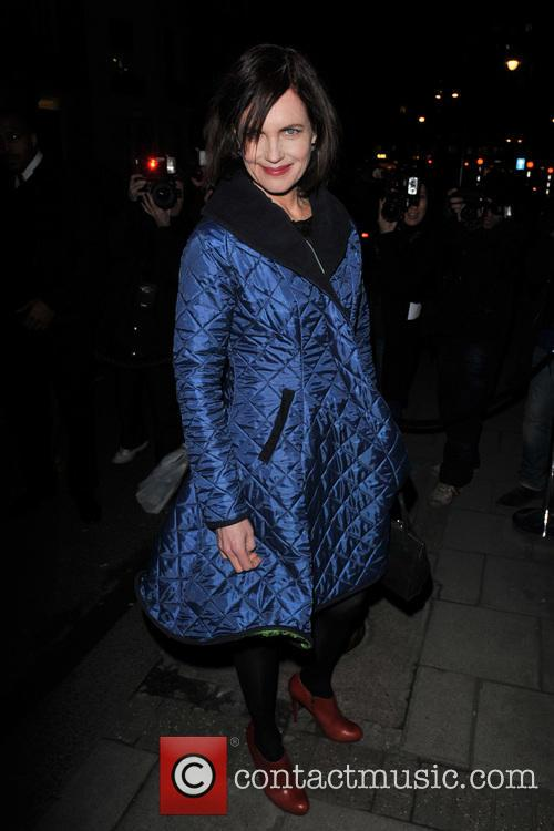 elizabeth mcgovern london fashion week autumn 3513465