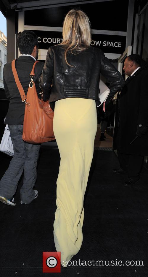 Laura Whitmore, London Fashion Week