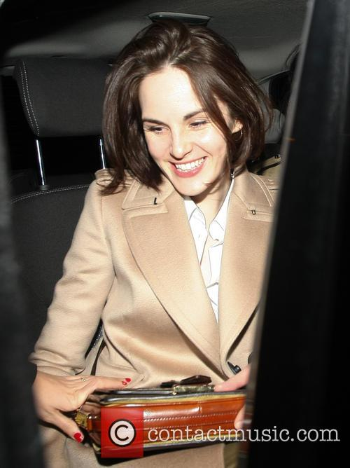 Michelle Dockery at Loulou's