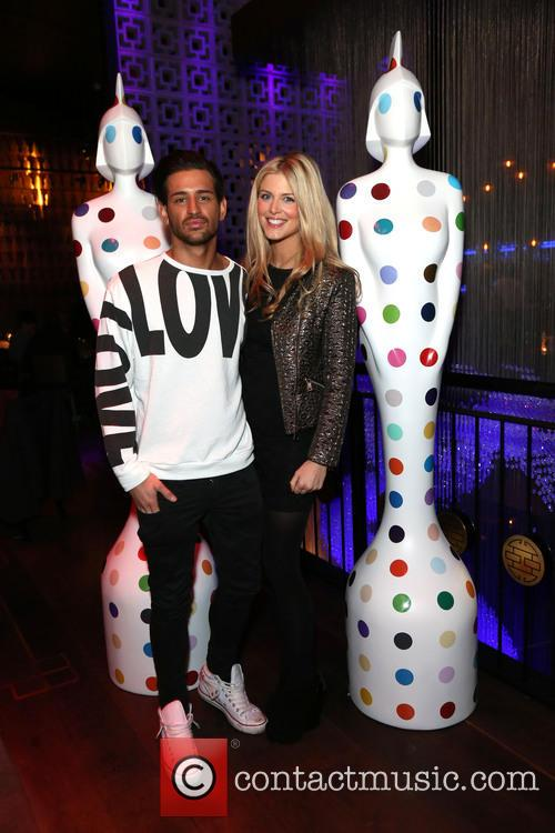 Ollie Locke With His Girlfriend Ashley James 10