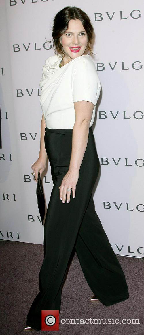 Drew Barrymore, BVLGARY Jewelry Event